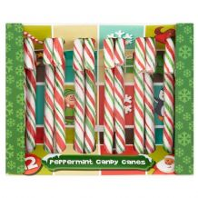 Candy Canes - Peppermint  (x 12)